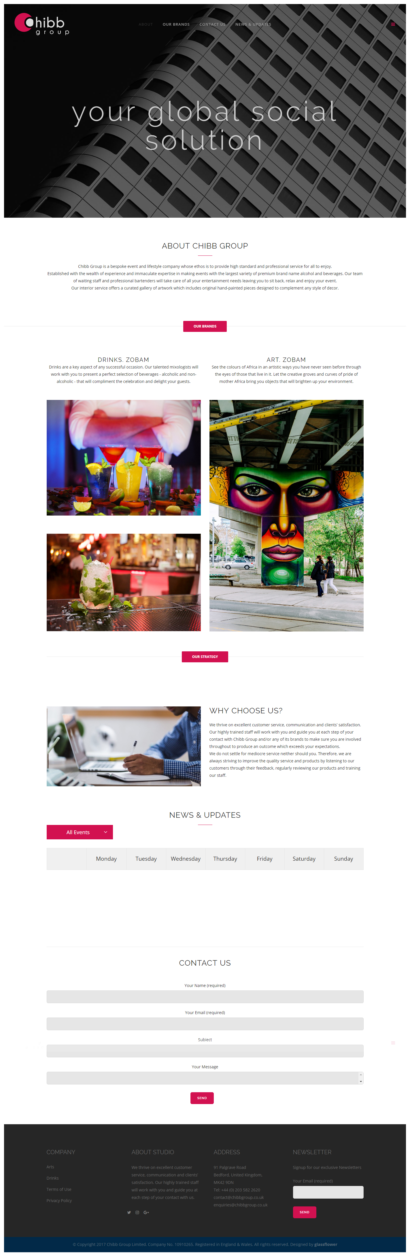Chibb-Website