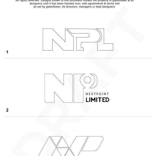 Nextpoint Limited – Wireframe