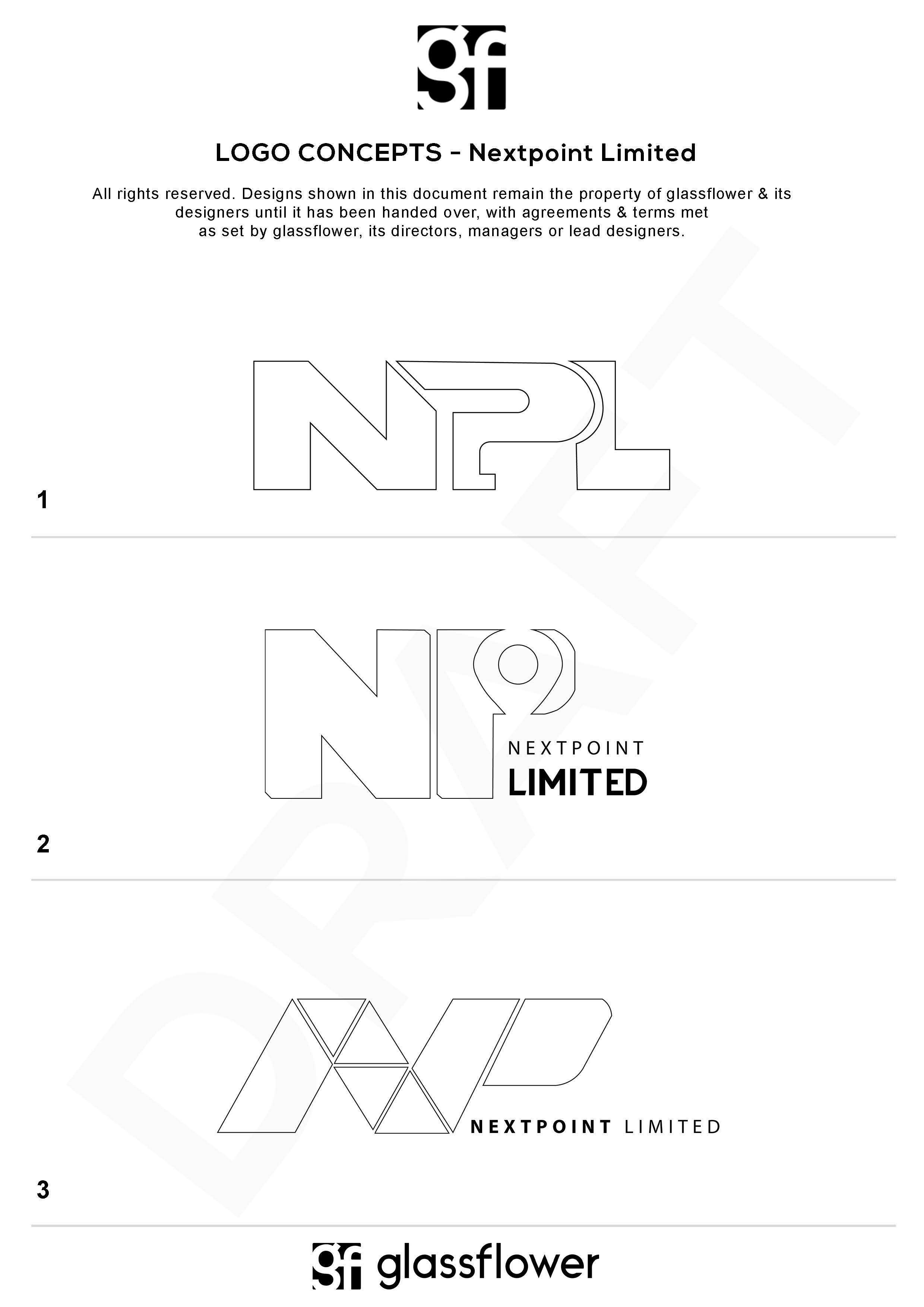 Nextpoint Limited – Wireframe