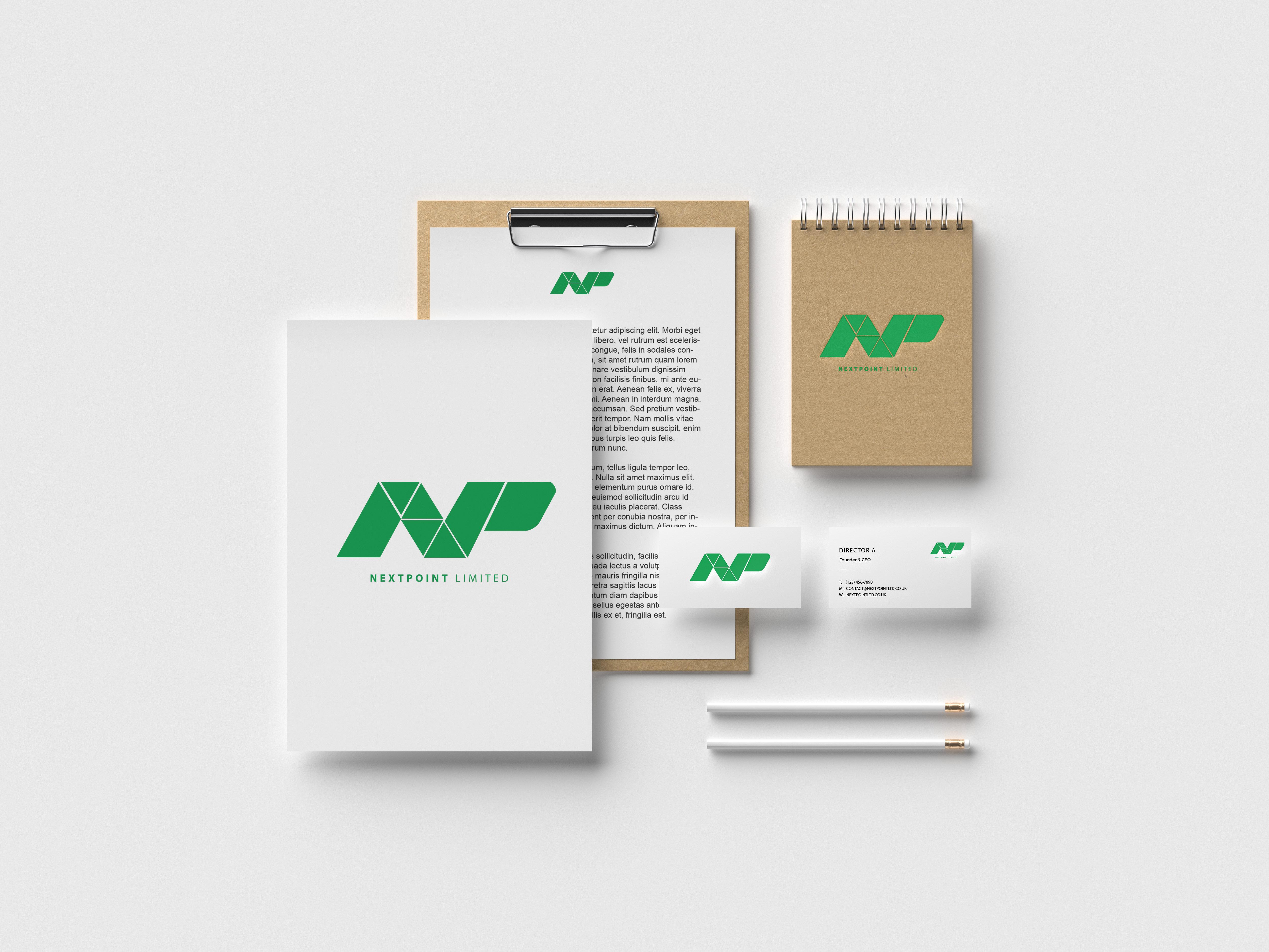Nextpoint-Stationery