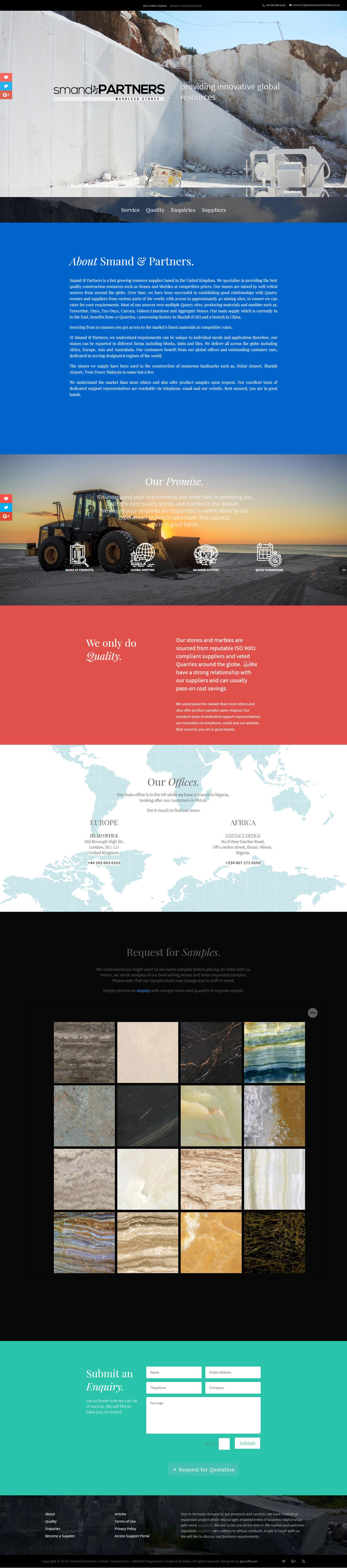 Smand-&-Partners-Website